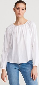 Bluzka Reserved z długim rękawem z okrągłym dekoltem