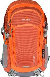 Pomarańczowy plecak męski Bergson