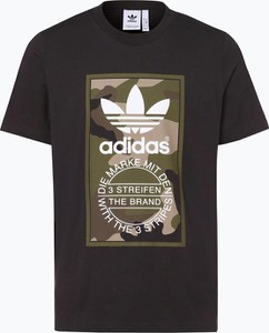 T-shirt Adidas Originals w militarnym stylu