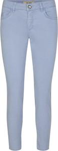 Niebieskie jeansy Mos Mosh z bawełny w stylu casual