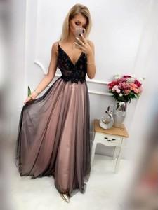 34f6dda75c946c suknia wieczorowa z tiulu. - stylowo i modnie z Allani