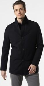 Niebieski płaszcz męski Cinque z dresówki