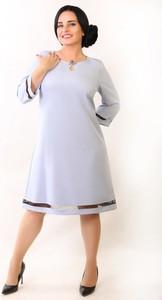 6bf8fa81b7 błękitna sukienka jakie buty - stylowo i modnie z Allani