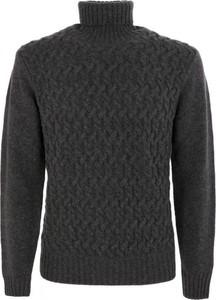 Czarny sweter Eleventy w stylu casual
