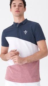 Koszulka polo House z krótkim rękawem w stylu casual
