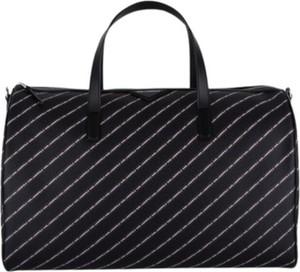 Czarna torba podróżna Karl Lagerfeld