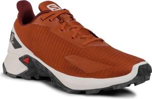 Pomarańczowe buty sportowe eobuwie.pl sznurowane