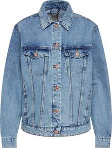 Niebieska kurtka Vero Moda z bawełny krótka