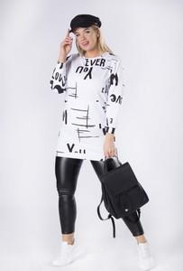 Tunika Moda Dla Ciebie z długim rękawem