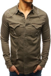 Koszula Dstreet z bawełny z długim rękawem