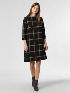 Czarna sukienka Franco Callegari w stylu casual z długim rękawem