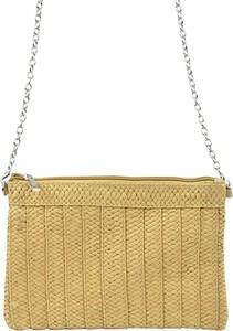 Żółta torebka Lookat na ramię