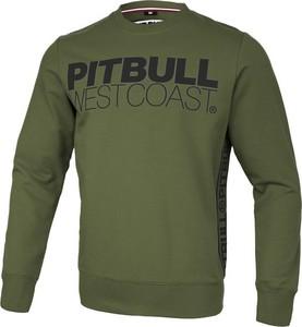 Bluza Pit Bull z tkaniny w młodzieżowym stylu