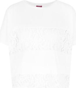 Bluzka Liu Jo Beachwear z okrągłym dekoltem bez rękawów