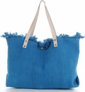 Niebieska torebka VITTORIA GOTTI duża