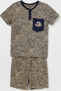 Zielona piżama Reserved dla chłopców