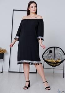 Sukienka tono.sklep.pl z długim rękawem oversize