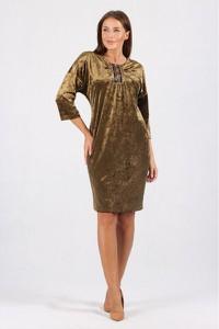 Sukienka Margo-collection z długim rękawem mini w stylu casual