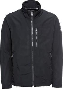 Czarna kurtka Marc O'Polo z tkaniny w stylu casual