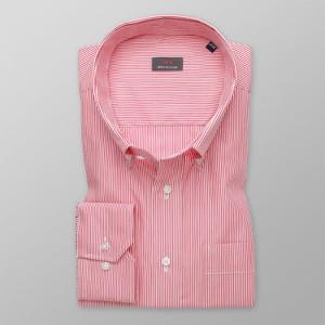 Różowa koszula Willsoor z bawełny