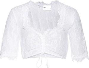Bluzka bonprix z okrągłym dekoltem