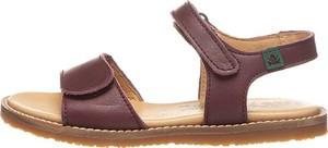 Buty dziecięce letnie El Naturalista ze skóry na rzepy
