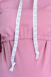 Różowa bluza Mijaculture z bawełny
