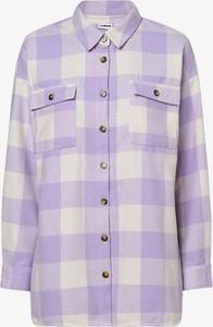 Fioletowa bluzka Noisy May w stylu casual
