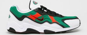 Buty sportowe Nike Sportswear sznurowane ze skóry zoom