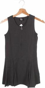 Czarna sukienka dziewczęca Back To School
