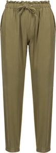 Zielone spodnie Deha z tkaniny