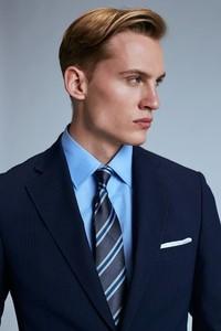 Niebieski garnitur Guns&Tuxedos