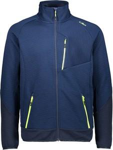 Granatowa kurtka CMP z plaru w sportowym stylu