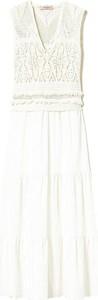 Sukienka Twinset bez rękawów maxi z dekoltem w kształcie litery v
