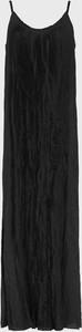 Sukienka AllSaints maxi z tkaniny na ramiączkach