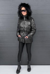 Czarna kurtka BOCA krótka