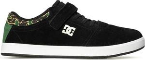 Buty sportowe dziecięce DC Shoes ze skóry