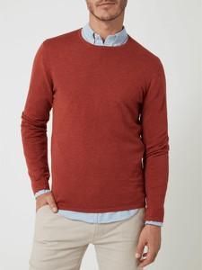 Sweter McNeal z okrągłym dekoltem z bawełny