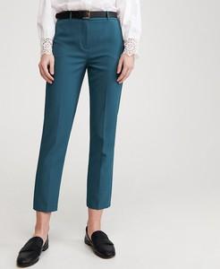 Turkusowe spodnie Reserved