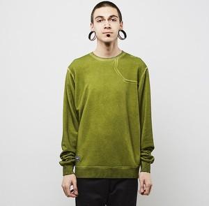 Zielona bluza Backyard Cartel w młodzieżowym stylu