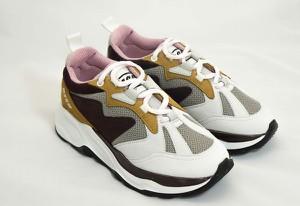 Sneakersy MSGM sznurowane na platformie