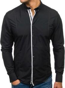Koszula denley z długim rękawem z bawełny