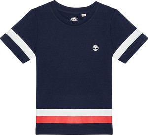 Koszulka dziecięca Timberland z krótkim rękawem w paseczki dla chłopców