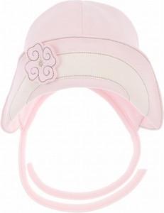 Różowa czapka Sofija