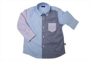 Niebieska koszula dziecięca Il Gufo z bawełny dla chłopców