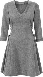 Sukienka Manifiq&Co. z dekoltem w kształcie litery v mini w stylu casual