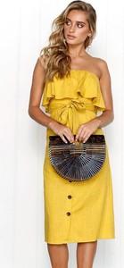 85d6dfc214 Żółte sukienki letnie na co dzień