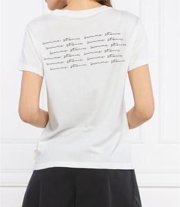 T-shirt Marc O'Polo z krótkim rękawem z okrągłym dekoltem w młodzieżowym stylu