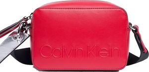 Czerwona torebka Calvin Klein mała
