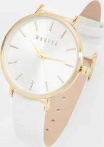 Mohito - Zegarek na pasku z imitacji skóry - Biały